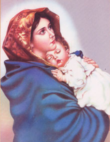 St. Mary with Infant Jesus